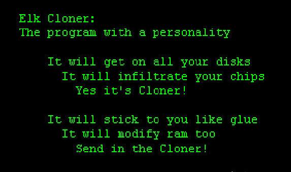 Elk Cloner(1982)